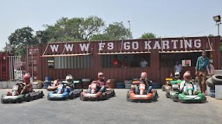 F9 go carting delhi