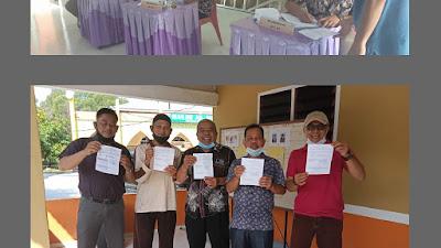 Pemilihan Ketua Rukun Tetangga (RT) Dan Rukun Warga (RW) Perumahan GPK Berlangsung Lancar