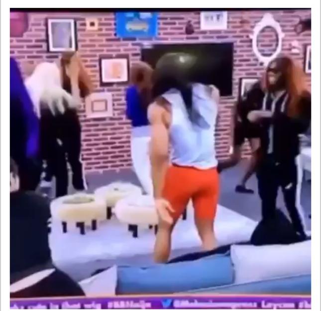 BBNaija: Male housemates showcases the Bobrisky in them (video)