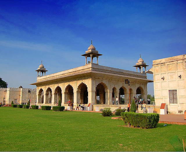 Diwan-I-Khas (Hall of private audience) Red Fort - UNESCO World  Heritage site in India