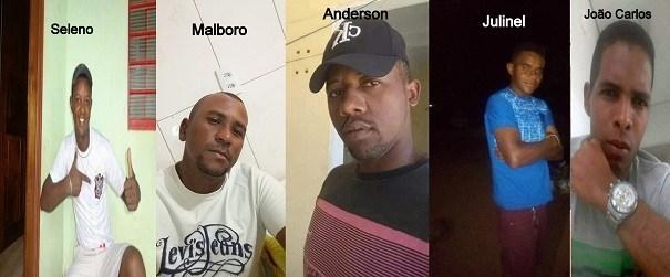 Identificados os cinco mortos em tragédia na BR-020