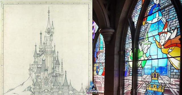 Inspirations for Sleeping Beauty Castle (Disneyland Paris), Disney, DLRP, Imagineer