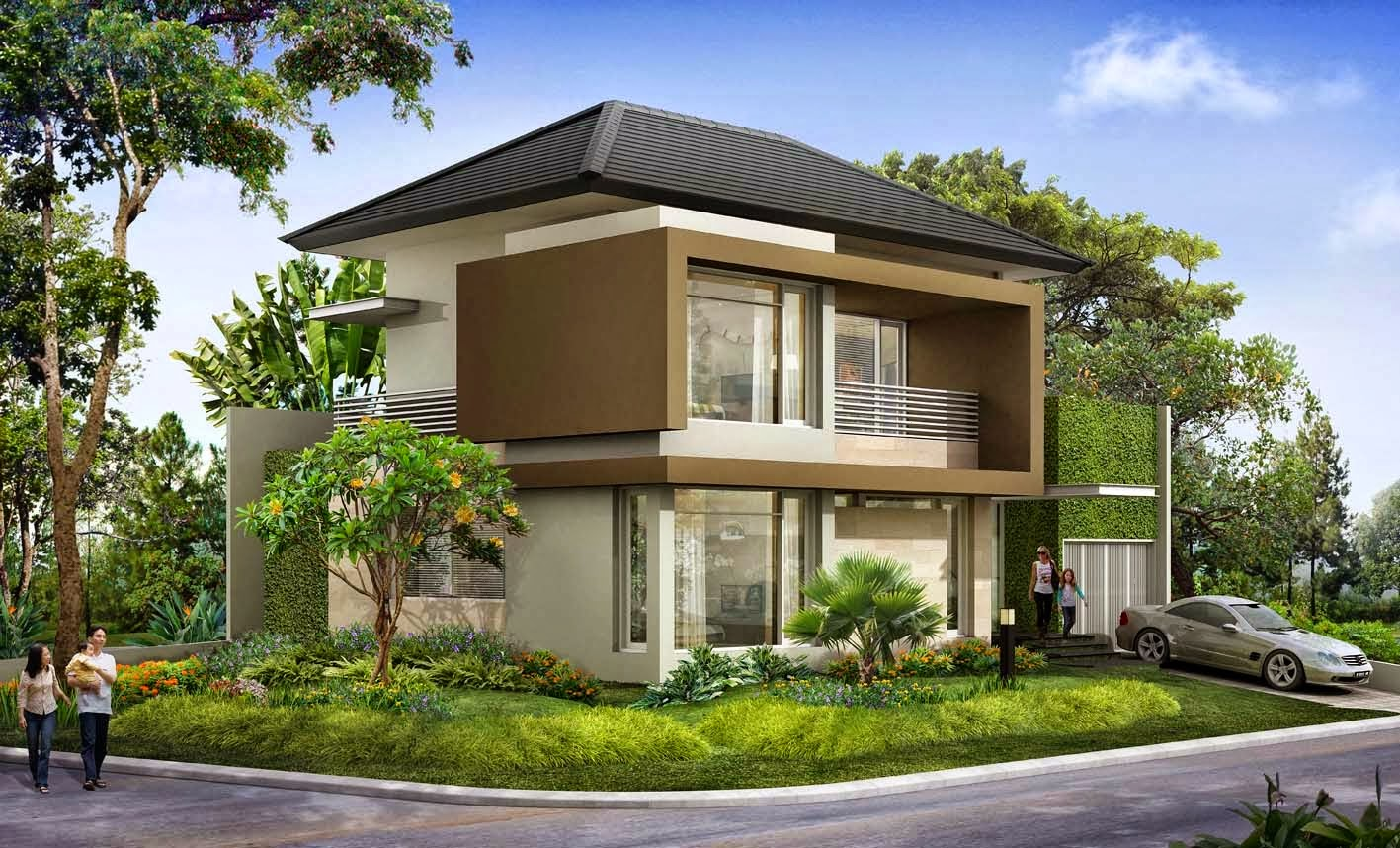 Desain Rumah Minimalis Idaman Keluarga Terbaru 2015