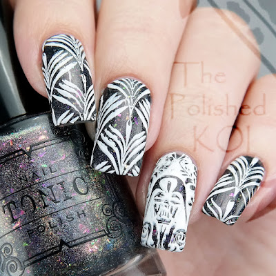 Tonic Polish Event Horizon Creative Shop Stamping Nail Art