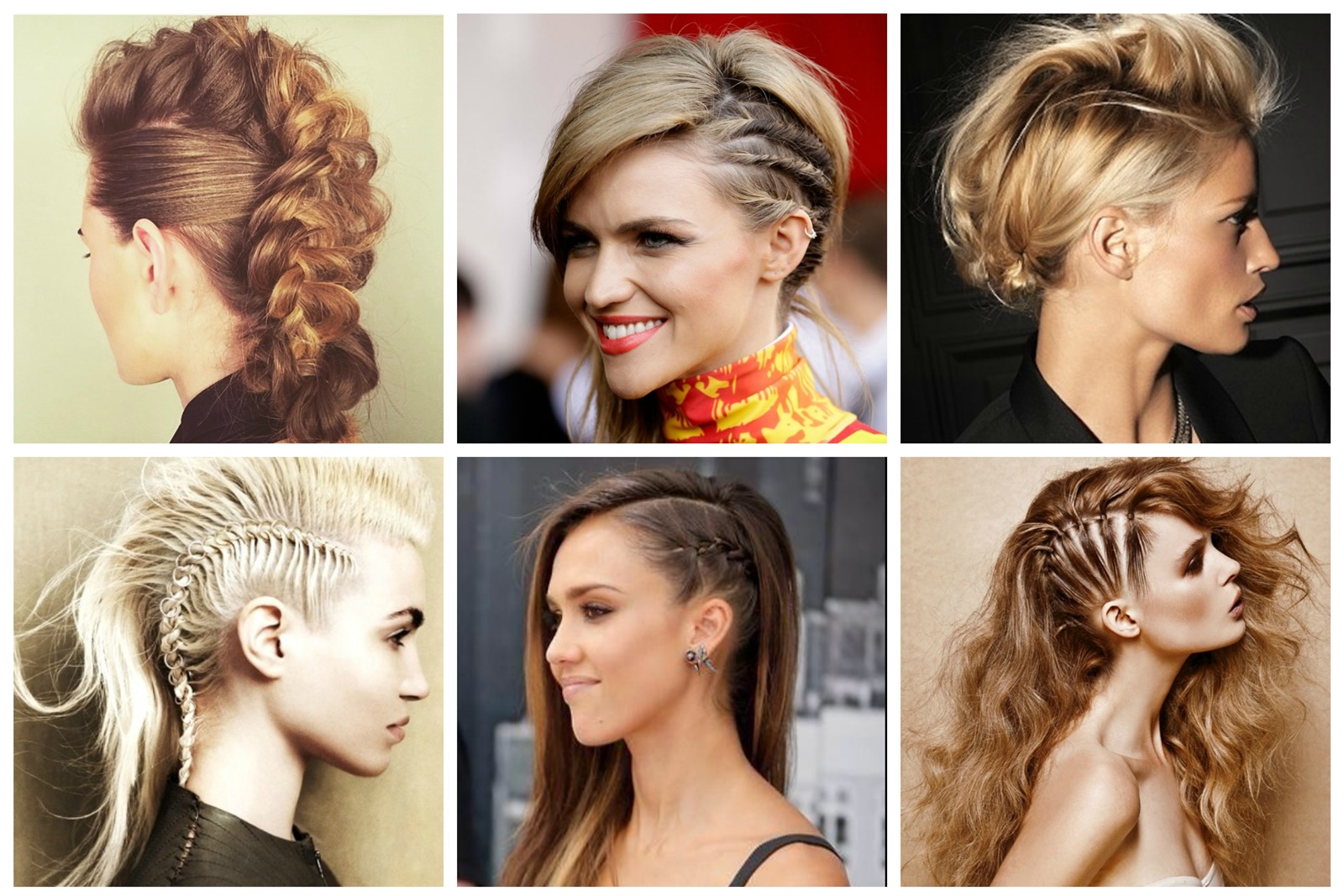 Pleasant Learn How To Create Fake Mohawk Braid Hair Fashion Online Schematic Wiring Diagrams Amerangerunnerswayorg