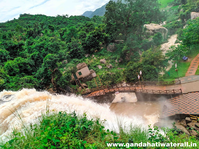 Gandahati waterfalls photos