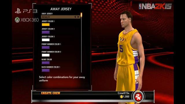 NBA 2K15 Thể Thao Bóng Rổ