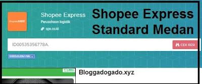 Cek resi Shopee Express Standard medan hub