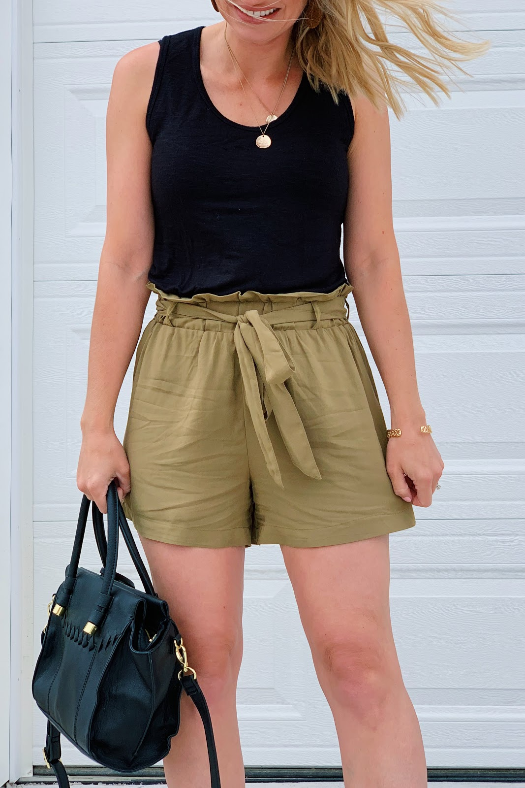 Affordable Paper bag shorts