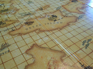 Dread Pirate: Buccaneer's Revenge game board