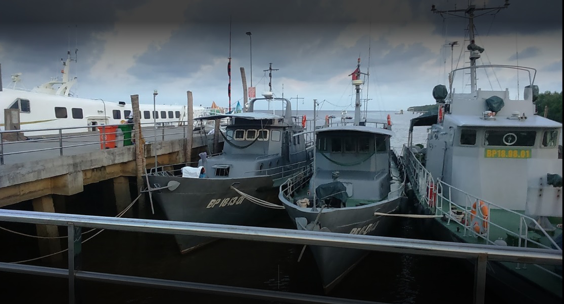 Thực tế cảng Trần Đề