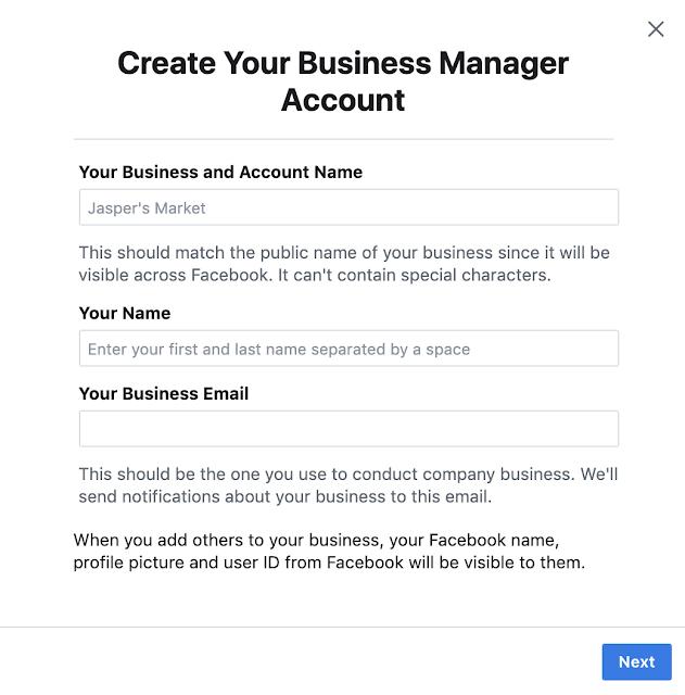 Hướng dẫn cách tạo tài khoản Business Manager trên Facebook - Trình quản lý doanh nghiệp