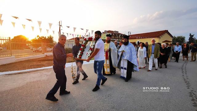 Γιορτάζει το εκκλησάκι του Αγίου Γερασίμου στις Αγροτικές Φυλακές Τίρυνθας