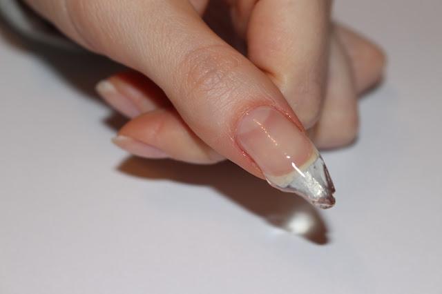 semilac hard milk hardi hola paola paznokcie przedłużanie hybrdą hybryda lakier budowa paznokci jak przedłużyć instrukcja indigo neo nail