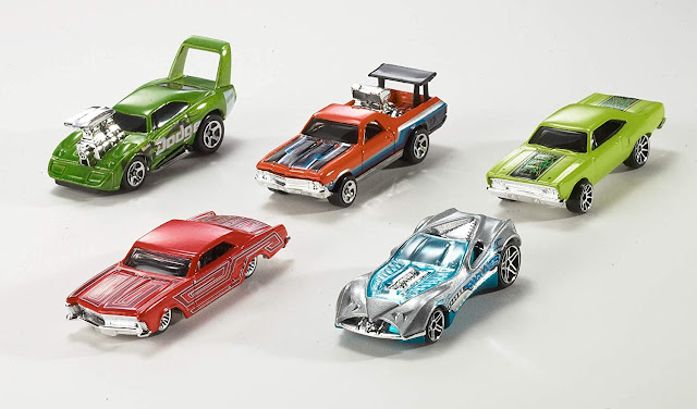 Hot wheels 10 cars Gift pack