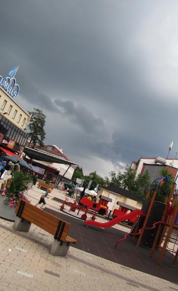Imatran kävelykatu Imatran keskusta