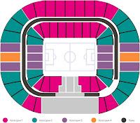 Russia vs Egypt FIFA match Tickets detail