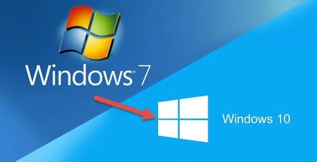 Passa da Windows 7 a Windows 10