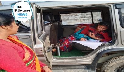 इंटर परीक्षा के दौरान महिला ने दिया बच्चे को जन्म