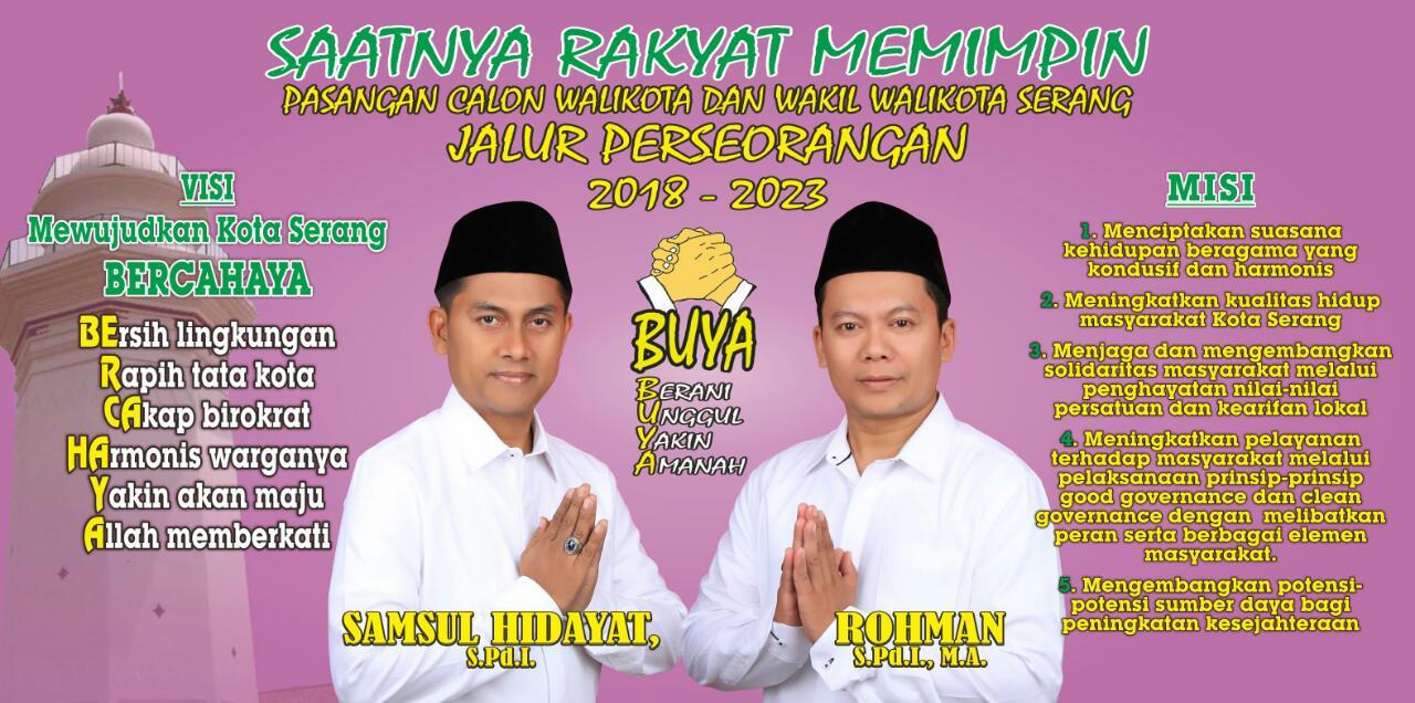 Posko BUYA Dan Bakal Calon Walikota Samsul Hidayat Dan Rohman