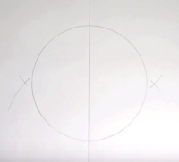Horizontal Bisecting Points