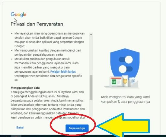 Masukan Data Diri Untuk Daftar Gmail 3