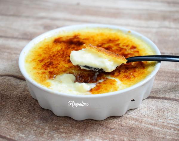 Crème Brûlée al Estilo Bonne Maman