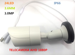 TELECAMERA AHD 3.0MP 24 LED 5028