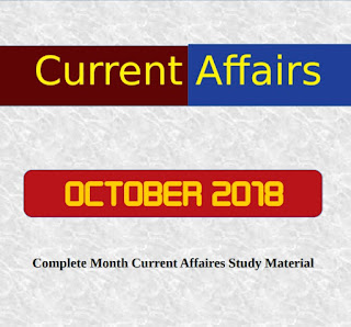 OCTOBER 2018 - Complete Month CA Study Material