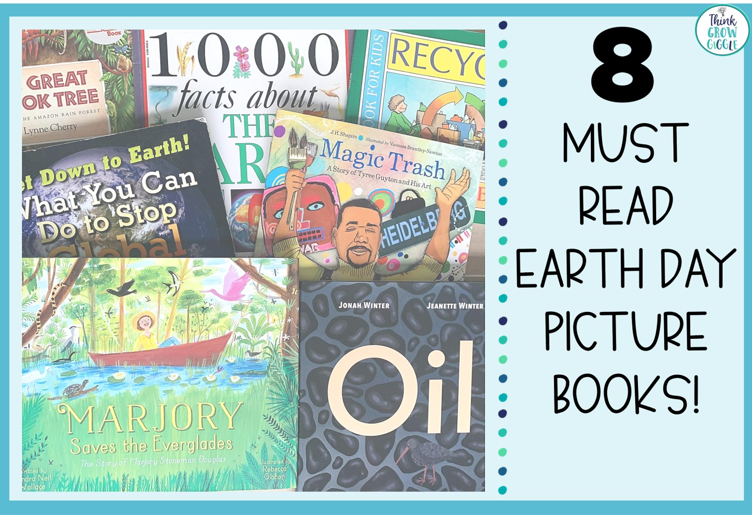 8 Earth Day Picture Books for Upper Elementary