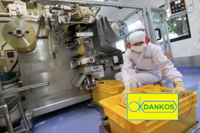 Lowongan Kerja Jobs : Technician, Inspector QA Min SMA SMK D3 S1 PT Dankos Farma Seluruh Indonesia