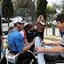 Entregan material de entrenamiento a deportistas en silla de ruedas