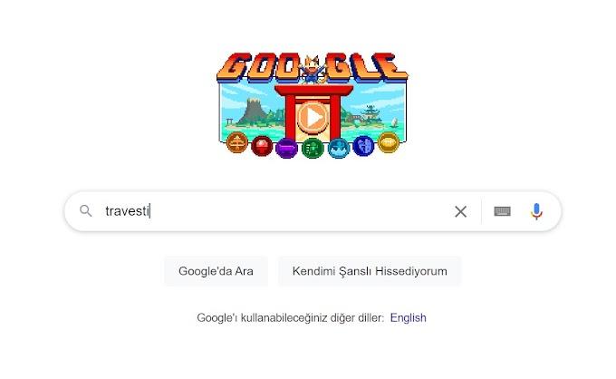 En temel içgüdü için Google