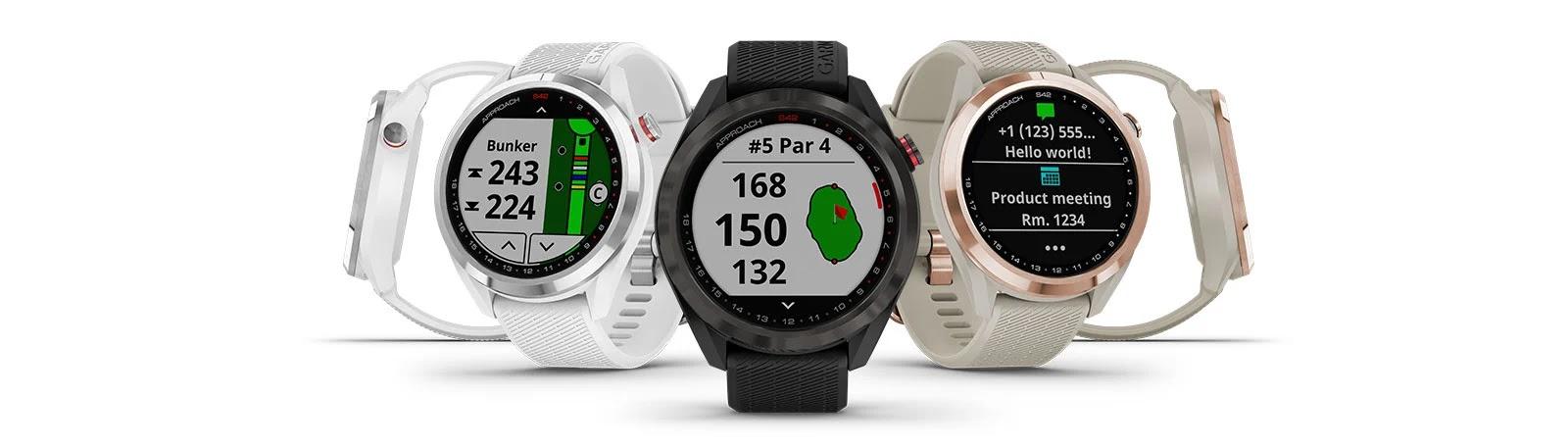 Oltre 42.000 campi precaricati sui nuovi smartwatch da Golf Garmin