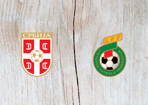 Serbia vs Lithuania - Highlights 10 June 2019
