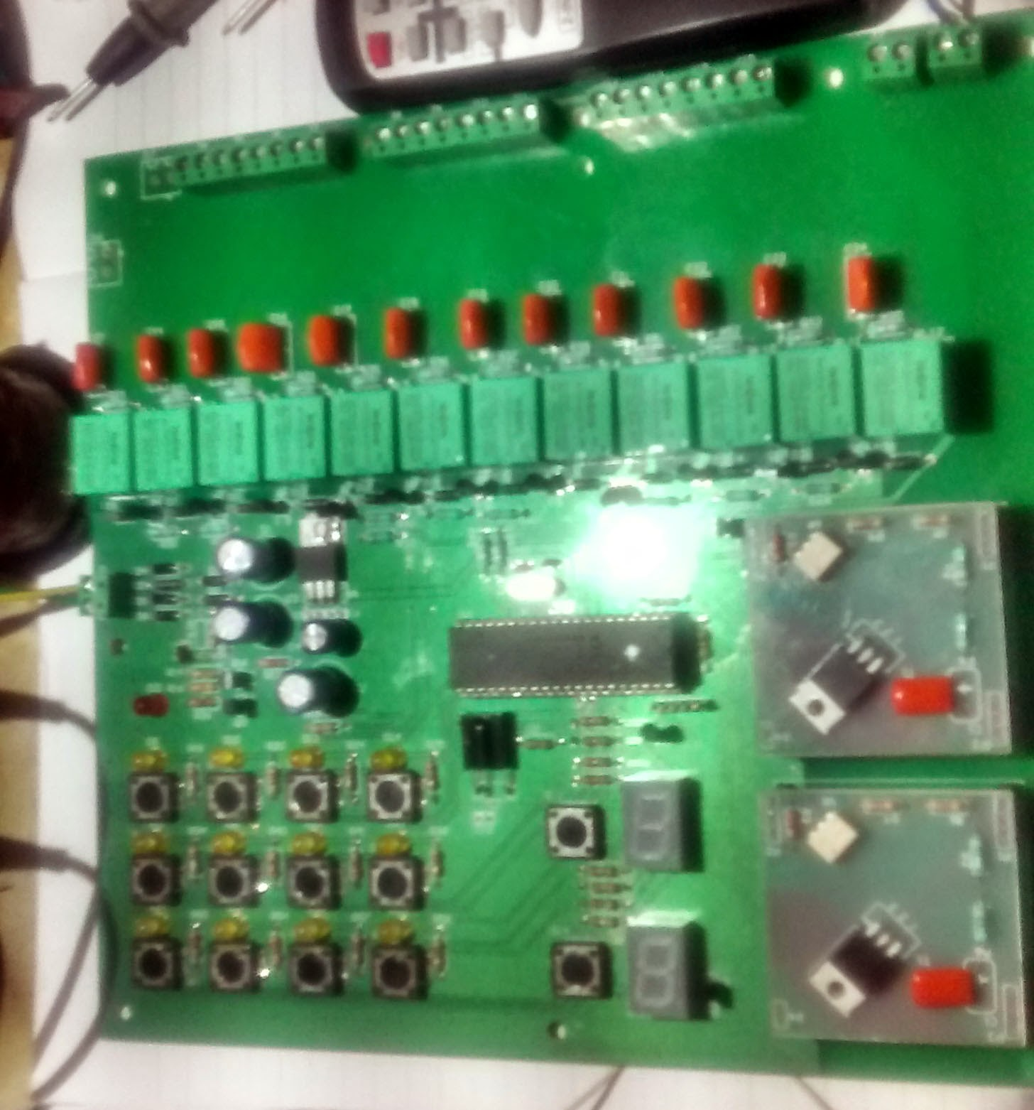Embedded Engineering 12 Channel Relay 2 Dimmer Control Basic Circuit Nec Protocol Based Remote For This Bord