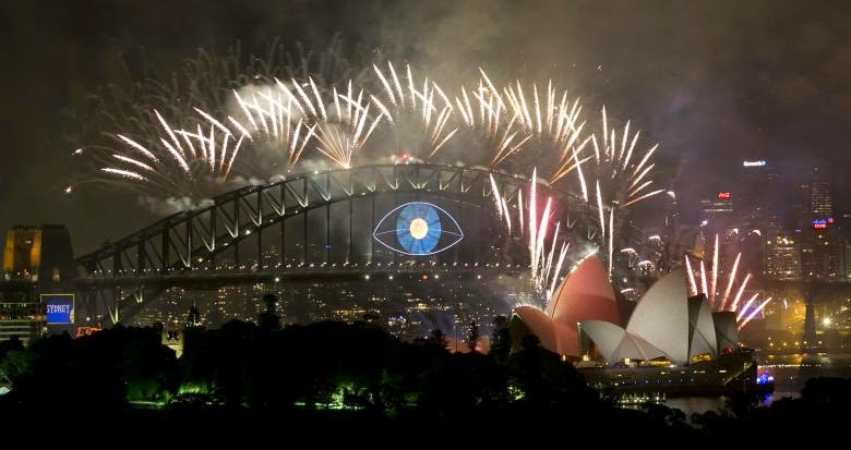 New Year 2019 Eve Celebration Fireworks Sydney High Quality Images