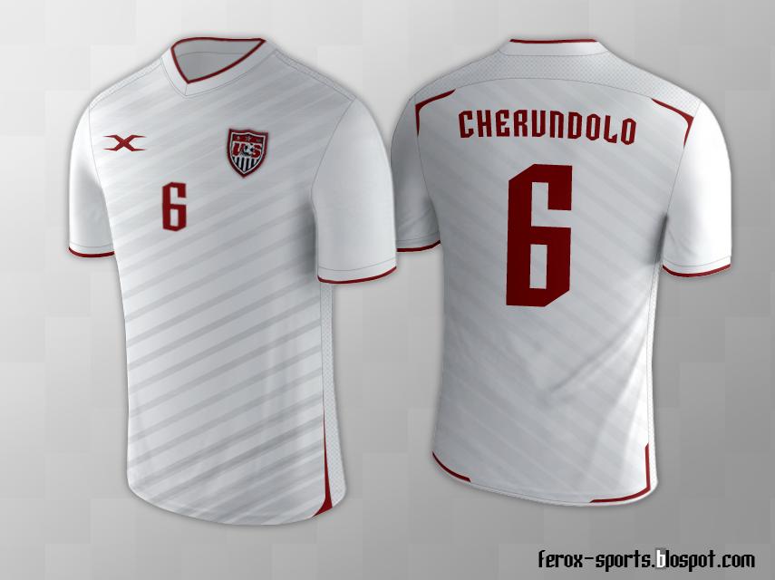 Download US National Team Soccer ~ Ferox Sports Design