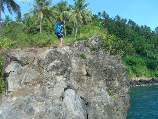 Vertical Cliff Exposure