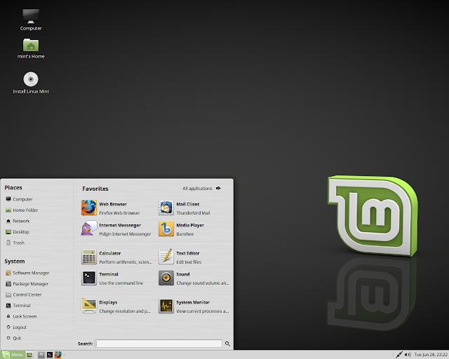 Distribuzione Linux Mint 18.1
