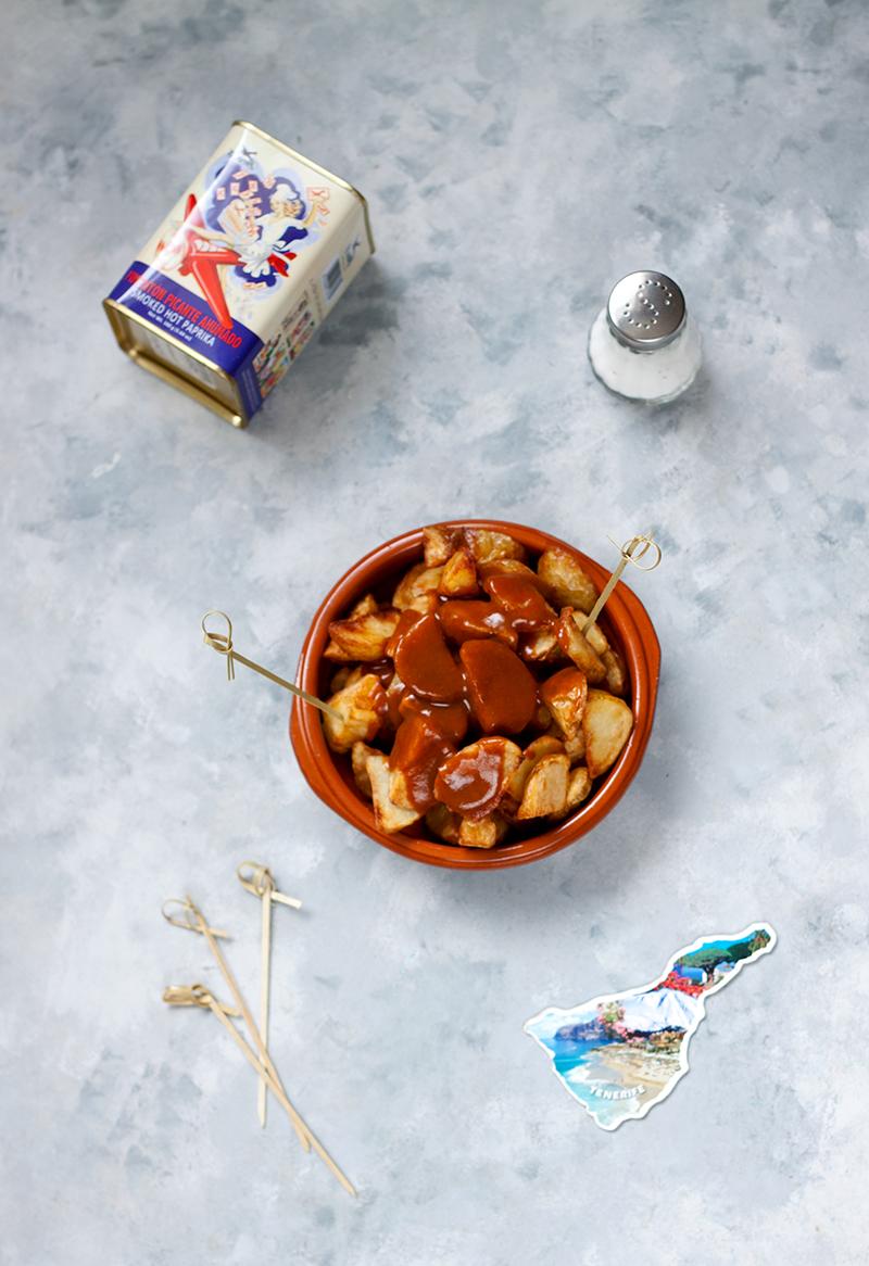 Patatas bravas, czyli hiszpańskie frytki