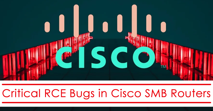 Critical RCE Bugs in Cisco SMB Routers Let Hackers Gain the Root Access Remotely – Update Now!!