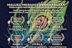 Provinsi Maluku Raih 6  Anugerah Pesona Indonesia (API) 2020