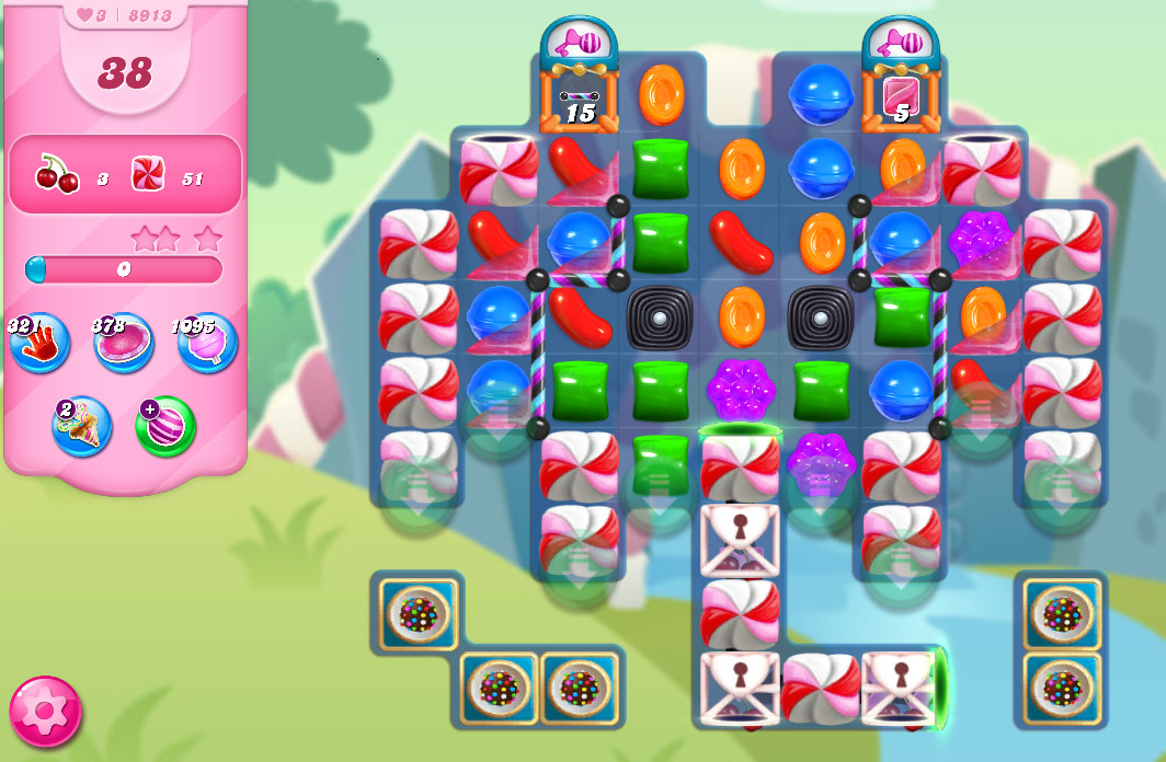 Candy Crush Saga level 8913