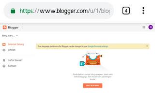 Cara membuat blog gratis untuk pemula
