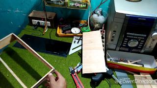 Step 2 -Cara buat Box LED INFINTY ILLUSION MIRROR