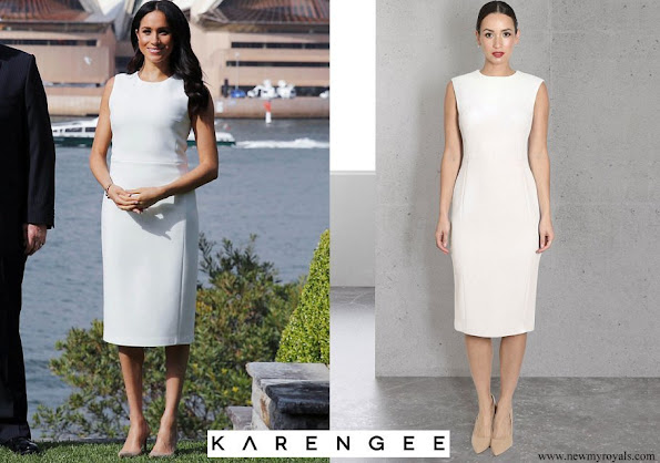 Meghan Markle wore Karen Gee Blessed dress