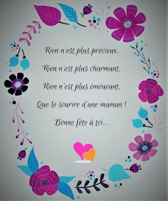 Message original bonne fête maman