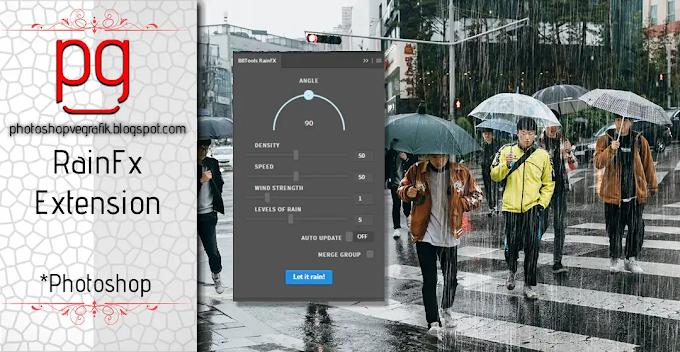 Tek Tıkla Yağmur Efekti - RainFX Photoshop Eklentisi