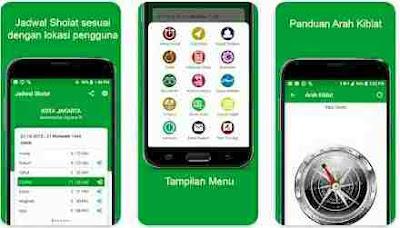 Aplikasi Waktu Sholat - Jadwal Waktu Sholat Indonesia - Kiblat, Adzan dan Do'a